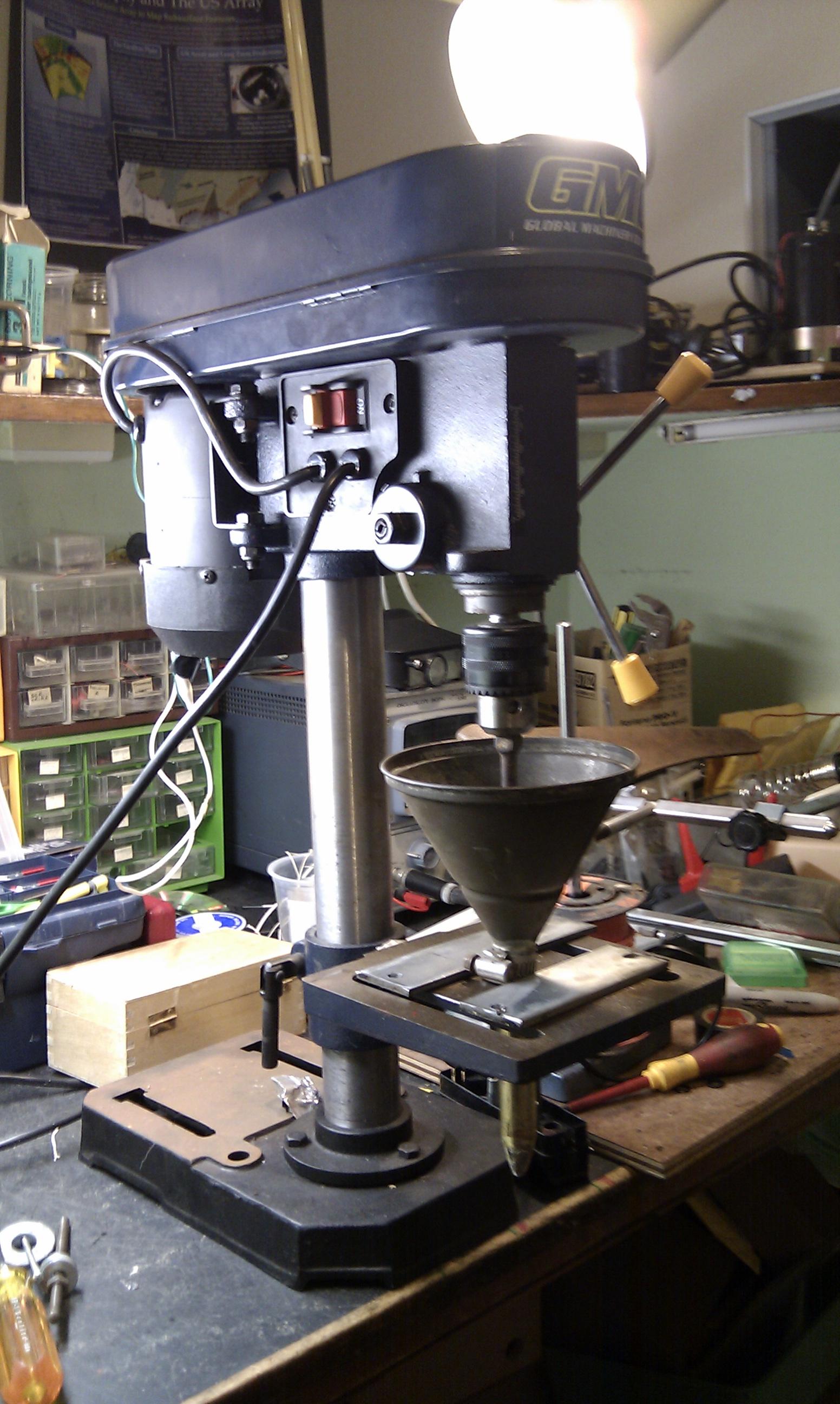 Granular HDPE extruder progress | Capolight Electronics