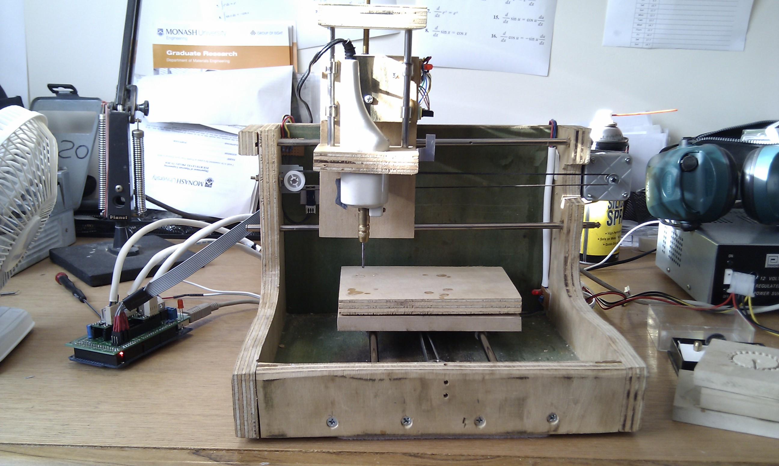 Cnc milling with ramps capolight electronics projects